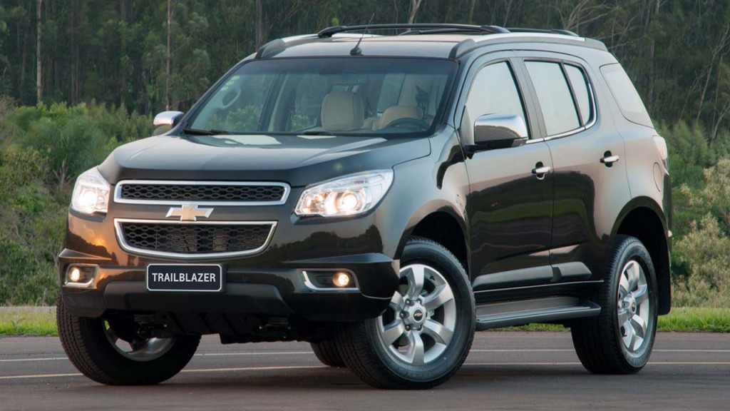 новый chevrolet trailblazer 2013