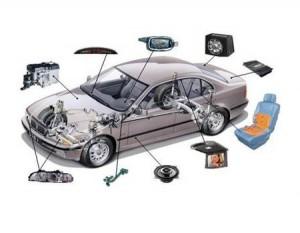 Схема размещения автозвука