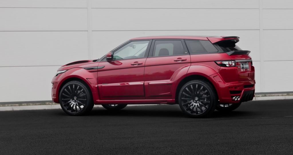 Range Rover Evoque Onyx фото
