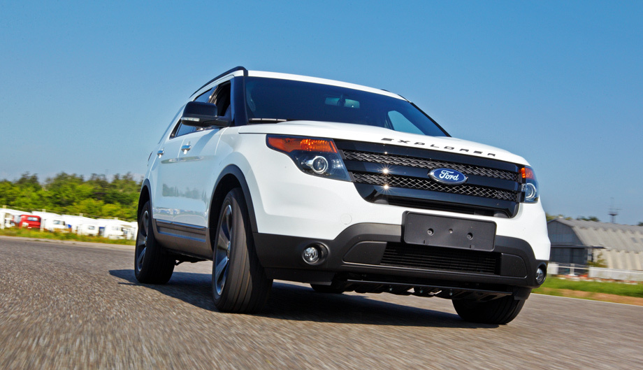 ford explorer sport 2013 фото