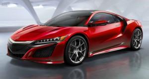 Honda NSX возвращается - V6 hybrid, 9-ступенчатая DCT, SH-AWD