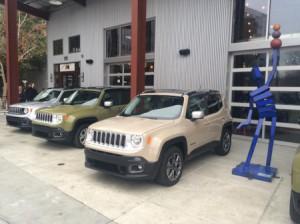 Jeep Renegade ценообразования утечка, полный привод и 6-ступенчатая механическая подтвердил