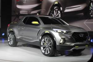 NAIAS 2015 года: Hyundai Santa Cruz кроссовер Truck Concept представила