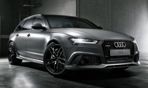 A single Audi RS6 Avant identified Audi Exclusive
