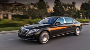 "Featured Mercedes-Maybach S 600 from the usual ""six hundredth"" by ear"