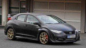Серийный Honda Civic Type R покажут в Женеве