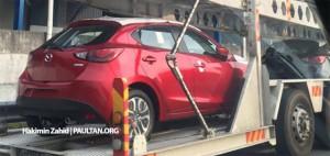 ШПИОНИЛ: 2015 Mazda 2 хэтчбек замечены в Малайзии
