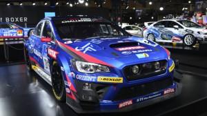 Subaru показывает гоночных версиях STI и BRZ
