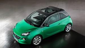 Хэтч Opel Adam получил мягкий раздвижной крышей