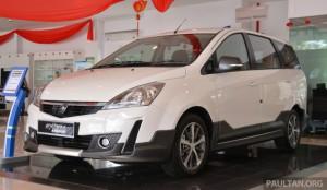 2015 Proton Exora facelift запустил - RM67k-82к, новый диапазон-разворотных супер премиум вариант введена