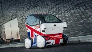 Autonomous electric car will be released on the sidewalks Britain