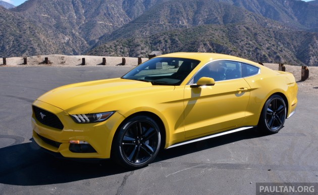 Ford Mustang LA 13