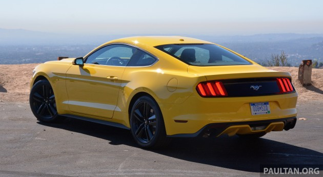 Ford Mustang LA 14
