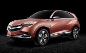 Ищите Acura кроссовер на базе Honda HR-V