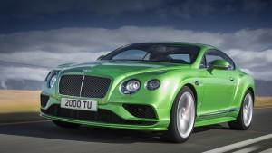 Модель Bentley Continental GT и Flying Spur обновлен до Женевы