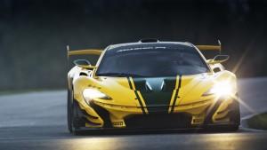 Серийный McLaren P1 hypercar GTR получил историческую окраску