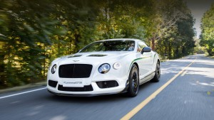 The coupe Bentley Continental GT3-R will appear rear-wheel drive sibling,