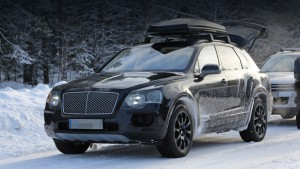 Crossover Bentley Bentayga will go on sale next year