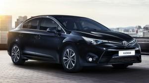 Toyota Avensis facelift дебютирует в Женеве - полная информация