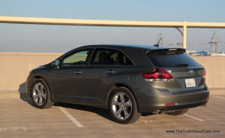 2013 Toyota Venza Limited, Exterior, Rear 3/4, Picture Courtesy of Alex L. Dykes