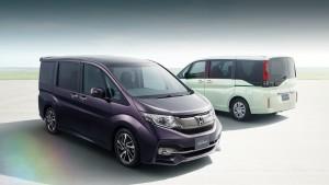 Минивэна Honda шаг wgn пригласили вести церемонию удивлен двухрежимный пятой двери