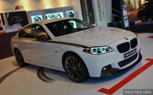 На BMW M Производительность части продемонстрировали производительность, косметические аксессуары в изобилии для BMW F10 и f30 с