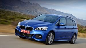 Радоваться сплав утилитарности и езды в компактвэна BMW в Гран Турер