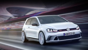 Concept Volkswagen Golf GTI Clubsport will launch a series