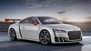Hatch Audi TT turned for festival 600-horsepower sports car
