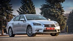 С легкой грустью прощаемся с Лексус GS 450h на российском рынке седан