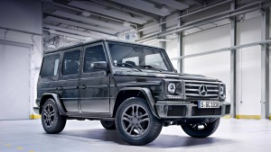 "SUV Mercedes-Benz G-class has received a new ""barbulescu"""