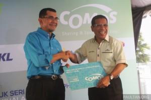 COMOS автомобиля EV-служба обмена запущен: 10 мест в долине Кланг, 1-й год членства в промо-RM50
