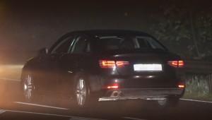Седан Audi А4 сбросил камуфляж раньше времени