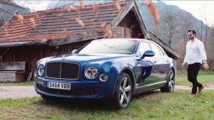 Сразу luxuriates в Bentley mulsanne скорость