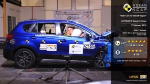 Сузуки с-Кросс баллы пятизвездочных АСЕАН NCAP рейтинг