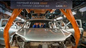 Кроссовер Lada рентгенологическое поставить на конвейер раньше времени