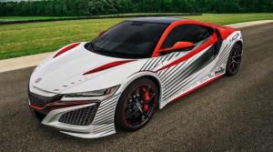 Хонда целей запуску в 2017 году для Acura NSX можно в GT гоночный автомобиль