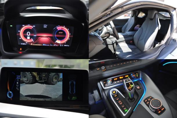 2015 BMW i8 interior details