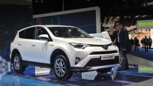 European SUV Toyota RAV4 Hybrid released in two versions