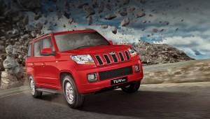 The Indians offered affordable crossover Mahindra TUV300