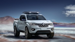 Concept Renault Alaskan will turn into a serial pickup