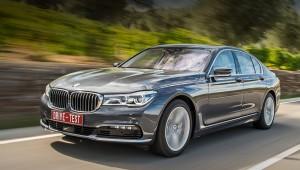Найти седан BMW седьмой серии на пике эволюции