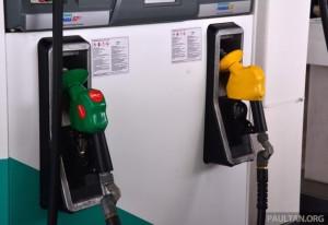Сентябрь 2015 топливо: Рон 95, 97, дизель вниз