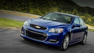 Chevrolet SS sedan has undergone the beginning of the update