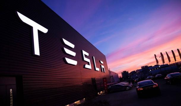 Tesla Building Circa March 2015