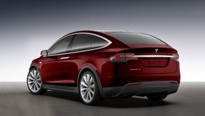 В Тесла модель x кроссовер рассекречен в конфигураторе