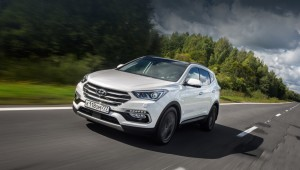 SUV Hyundai Santa Fe rose more in the older versions