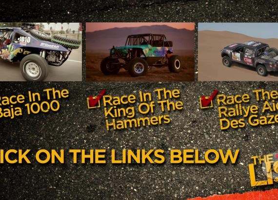 The List: Best of Off-Road Racing