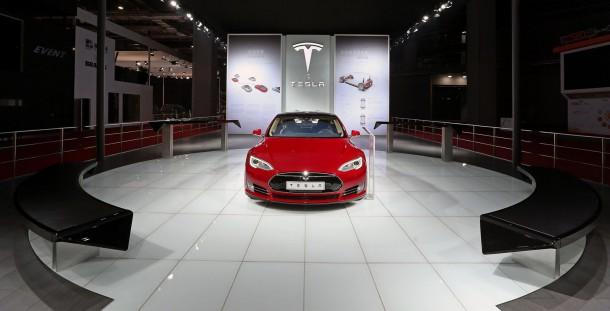 Tesla Model S Center Stage