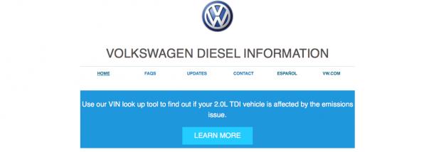 VW Diesel VIN Lookup